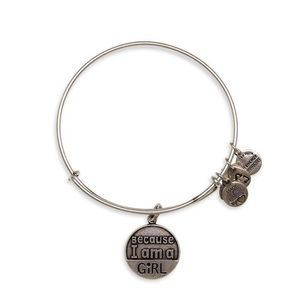 ALEX AND ANI | Because I Am A Girl Bracelet